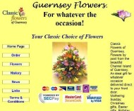 Guernsey Postal Flowers