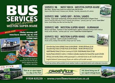 Bus Routes in Weston-super-Mare